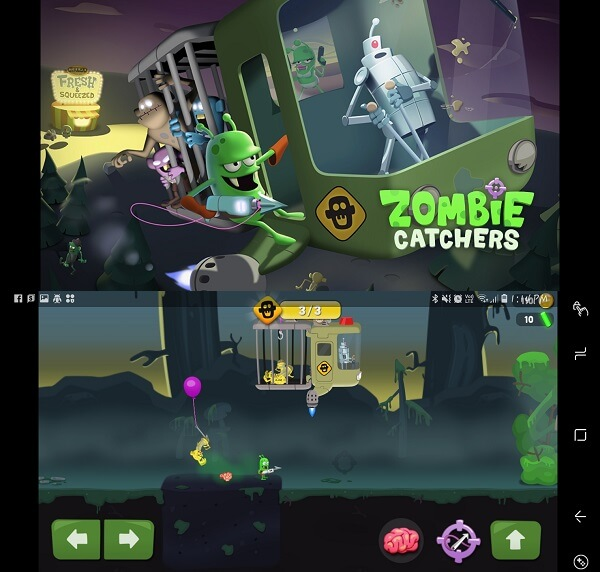 zombie catchers - Zombie games for smartphones