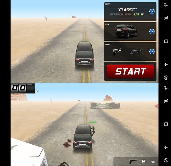 zombie highway - zombie games app