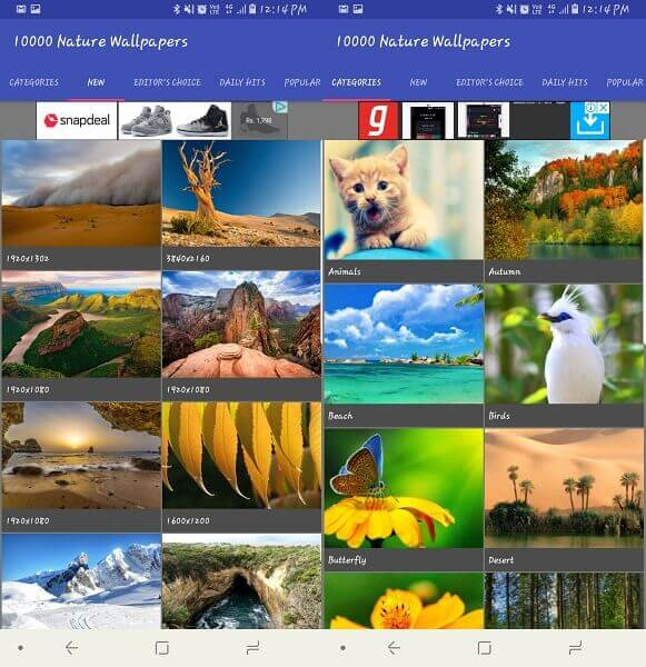 10000 Nature Wallpapers - best android wallpaper apps