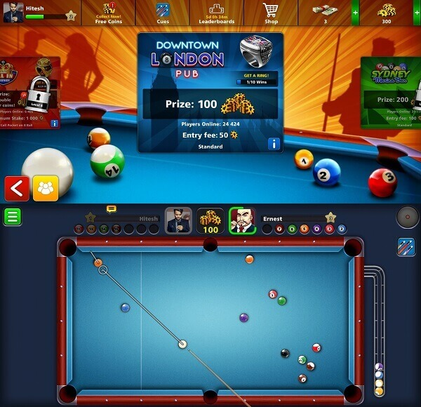 8 Ball Pool - Best online multiplayer game for android