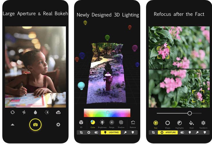Focos - app for dual camera phone
