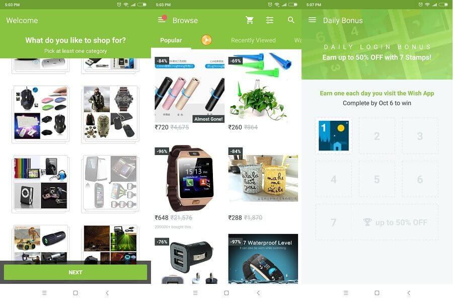 Geek - Best apps like Wish