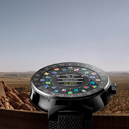 Louis Vuitton Tambour Horizon Black