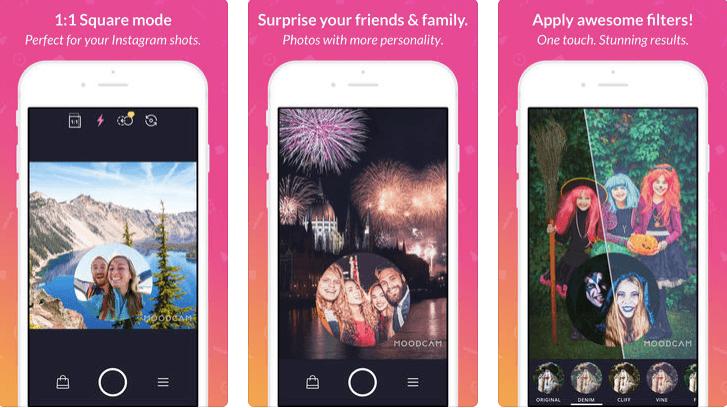 MOODCAM - Dual Camera App for iPhone