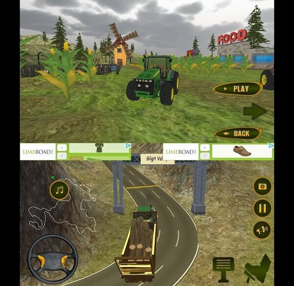Modern Tractor Transport Driving Simulation - best truck games