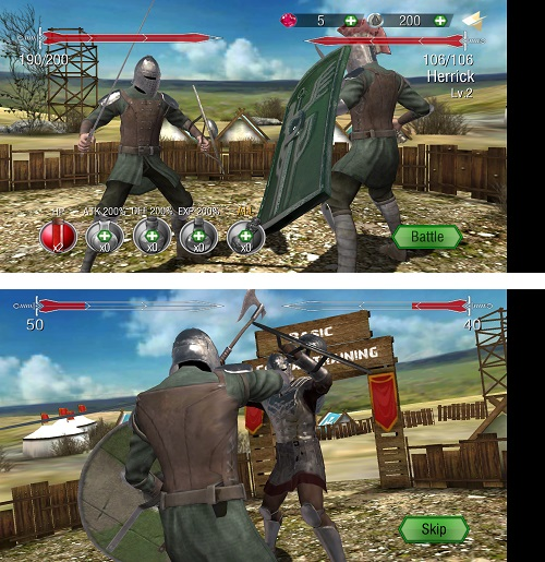 Mortal Blade 3D fighting game Android