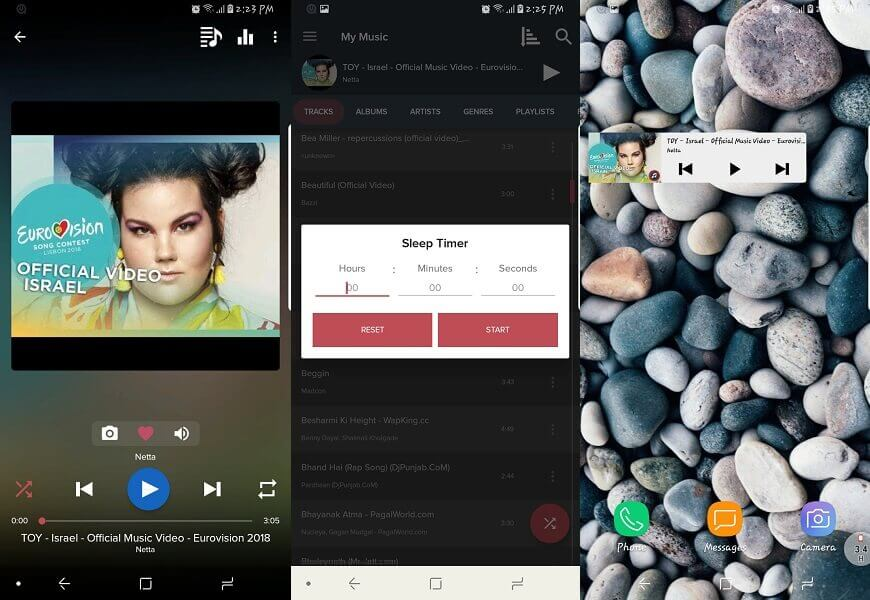Pi Music Player- offline music players for android