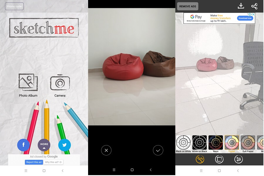 Sketch Me - best photo to sketch apps