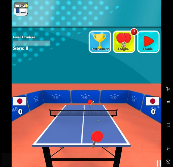 Table Tennis 3D - Best table tennis game for Android