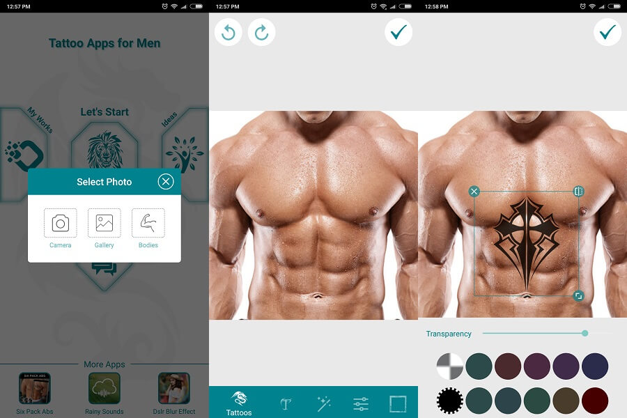 Tattoo apps for men