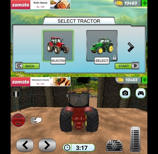Tractor Drive 3D Offroad Sim Farming Game - Best tractor games