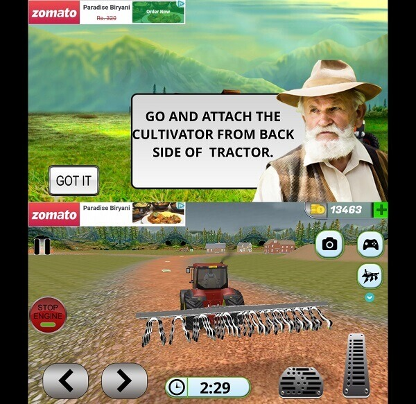 Tractor Drive 3D Offroad Sim Farming Game