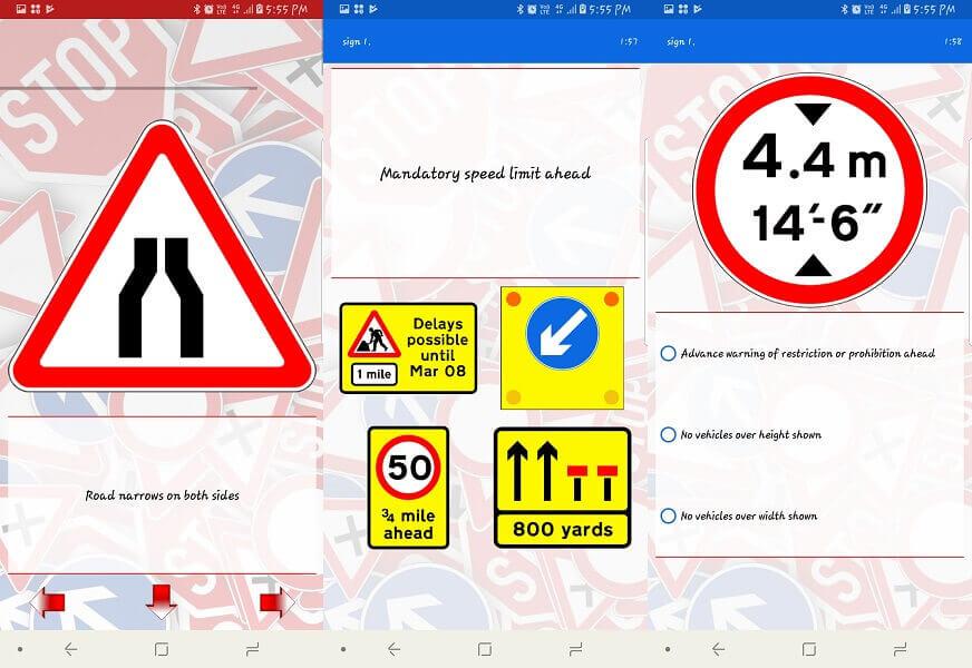 Traffic & Road signals app