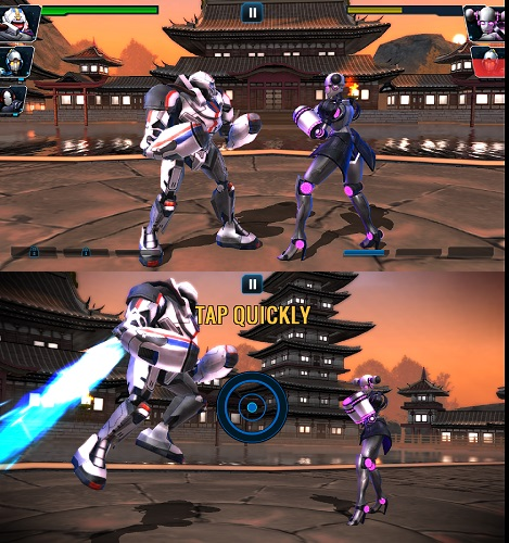 Ultimate robot Fighting offline game