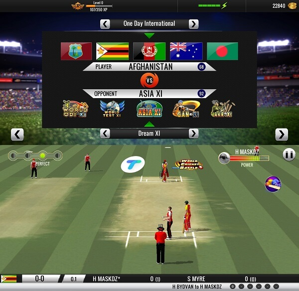 World Cricket Battle - Best cricket games for android