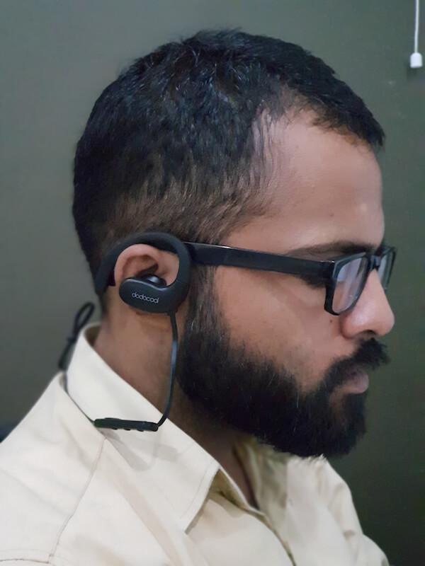 dodocool DA143 earphones comfortable fit