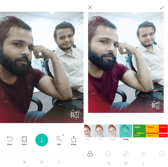 B612 - best camera apps for android