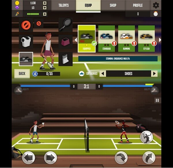 Badminton League - free badminton games