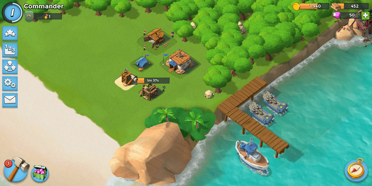 Boom Beach - Games like clash of clans Online