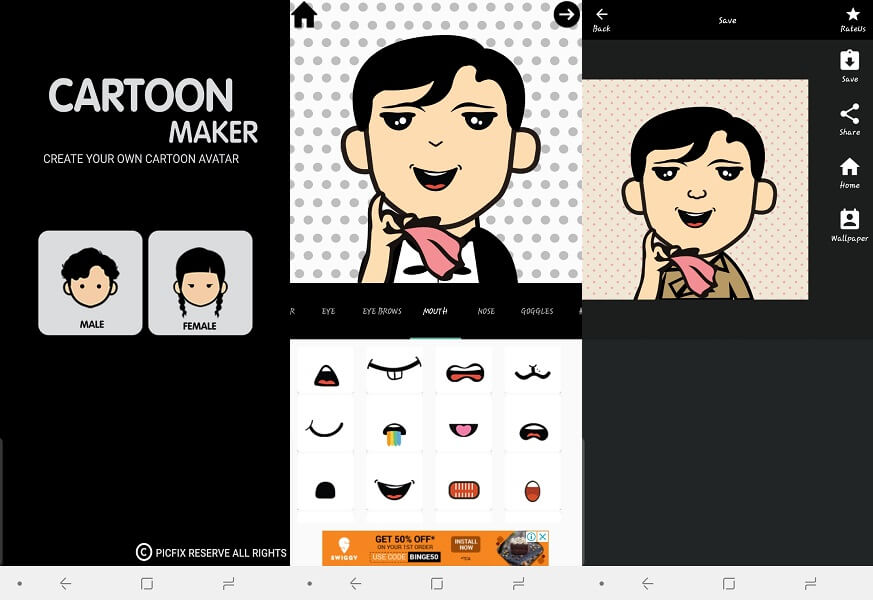 Bitmoji Alternative - Cartoon Maker