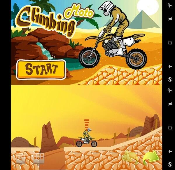 Climbing Moto - Hill Climbing games