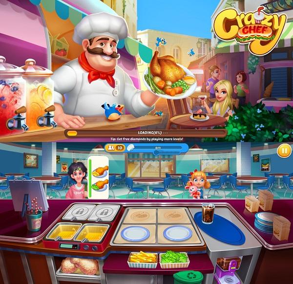 Crazy Chef - Trò chơi nấu ăn hay nhất