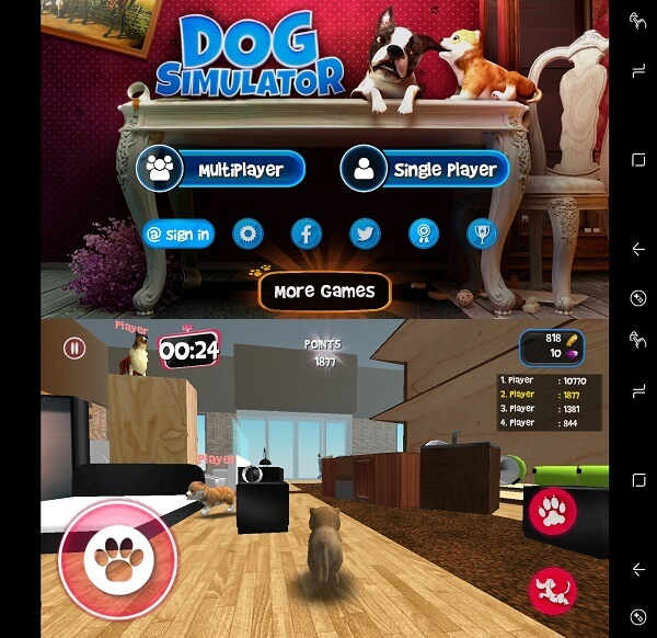 Dog Simulator - Best Virtual pet apps for iPhone
