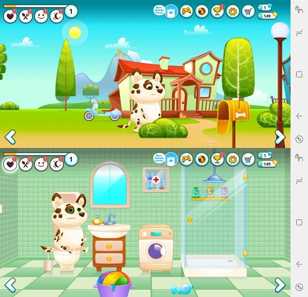 Duddu - best virtual pet app for Android