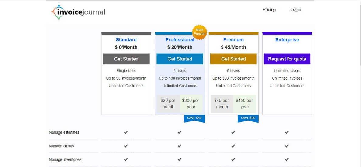 Invoice Journal- Online Invoice Generator Websites