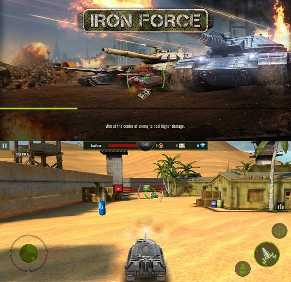 Iron Force - Best tank games online