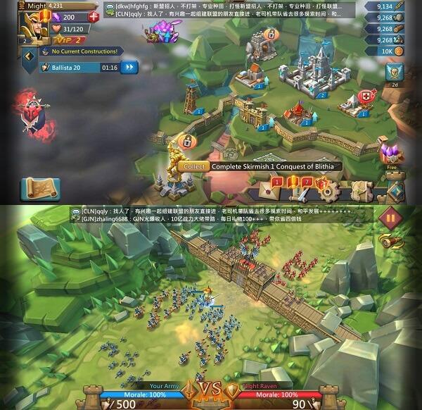 Lords Mobile - War kingdom
