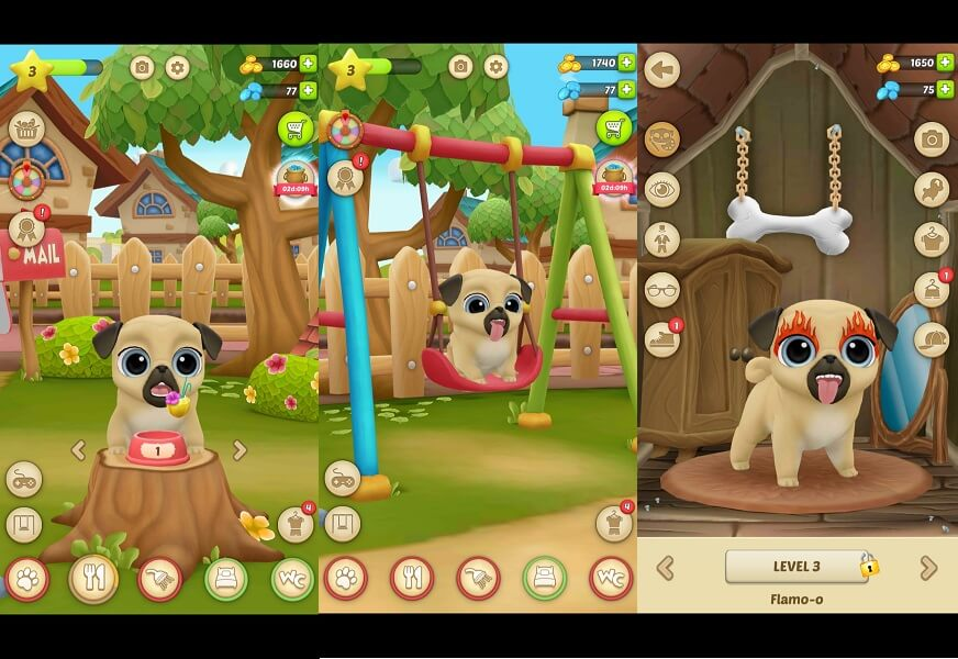 My Virtual Pet Dog - Pug Louie