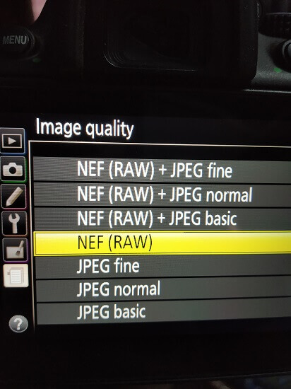 RAW vs JPEG - Sharing
