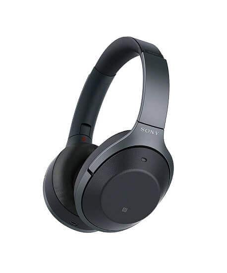 Sony WH 1000XM2- best noise canceling headphones
