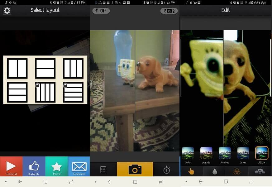 Split Pic app