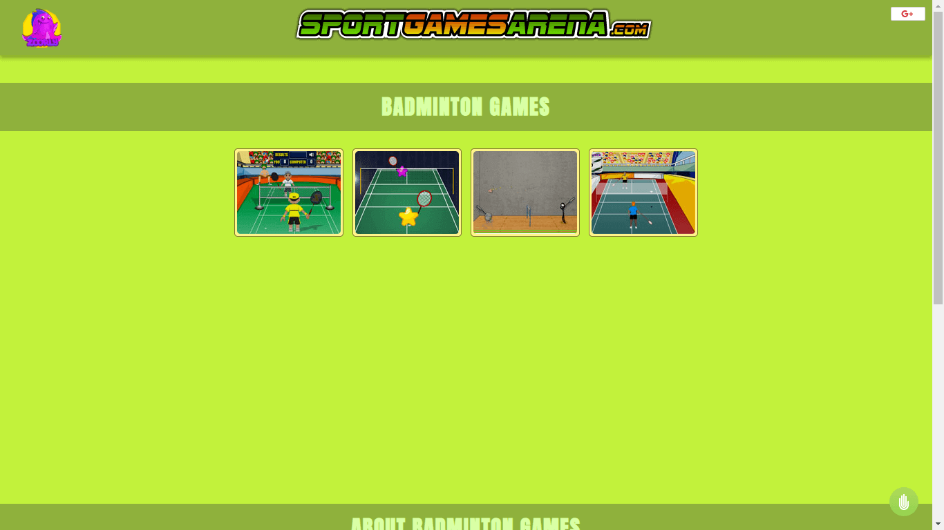 Sports Arena - Pc badminton games