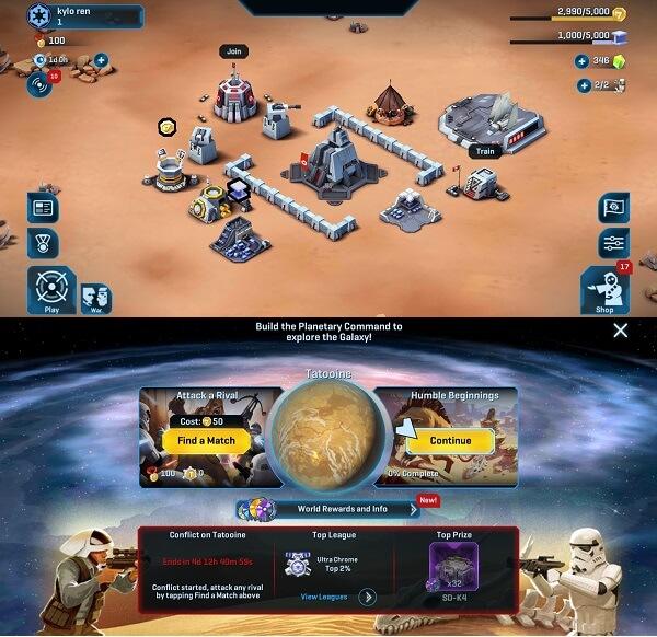 Star Wars - Commander - Best star wars games