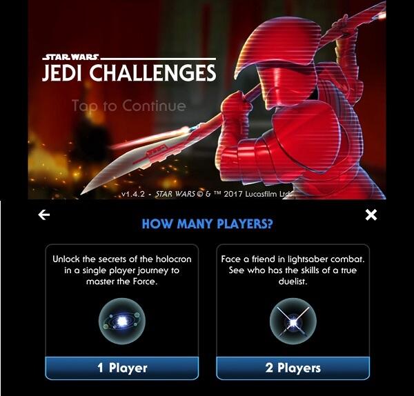 Star Wars -Jedi Challenges
