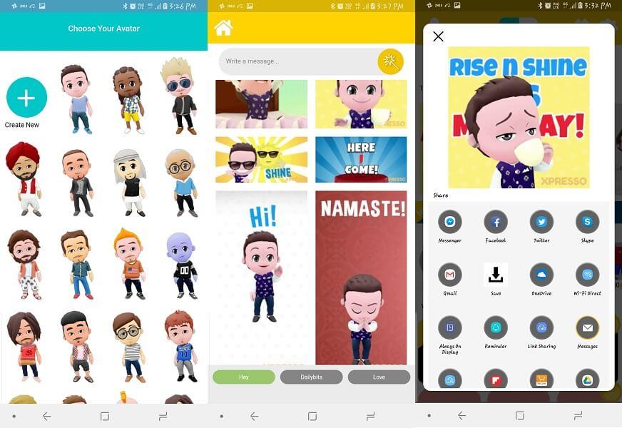 7 Apps Like Bitmoji To Create Your Cartoon Avatar And