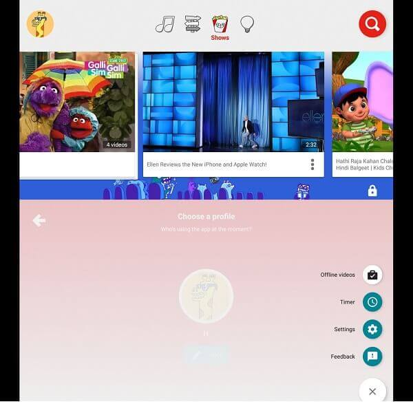 You Tube Kids - Best educational apps