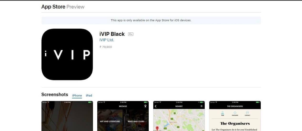 iVIP Black