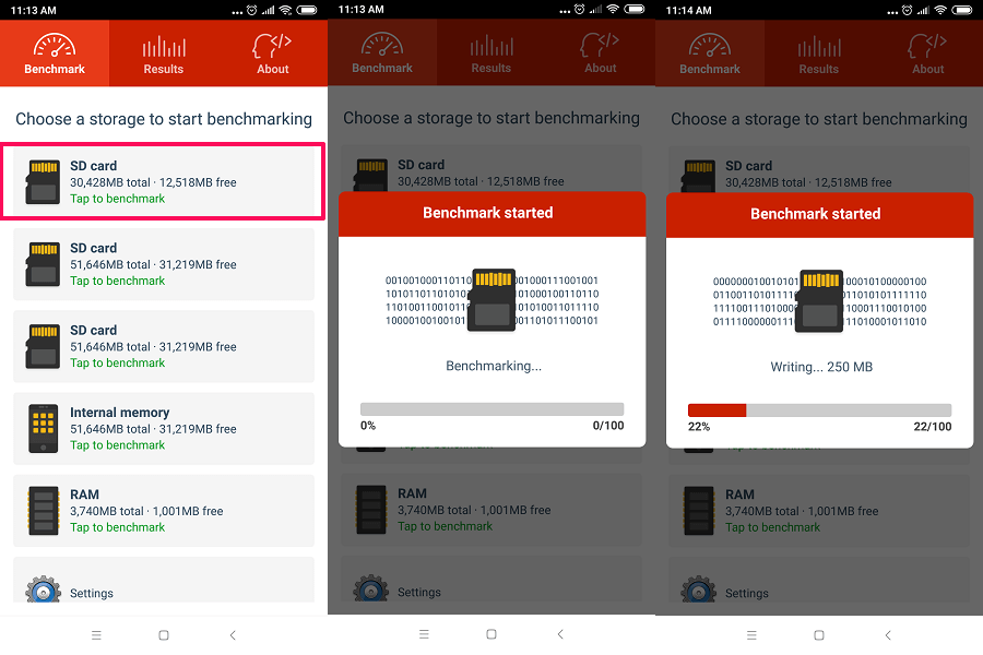 A1 SD bench - How to Test Micro SD Card Speed On Android