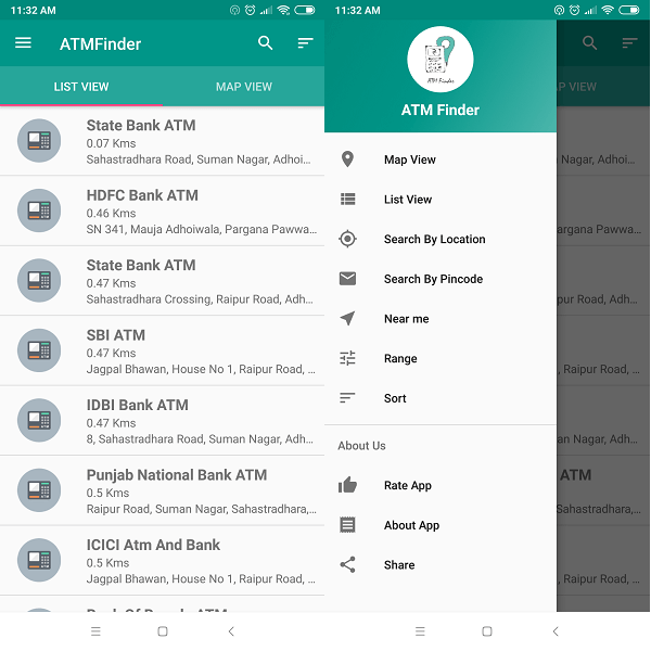 ATM Finder ATM Locator app