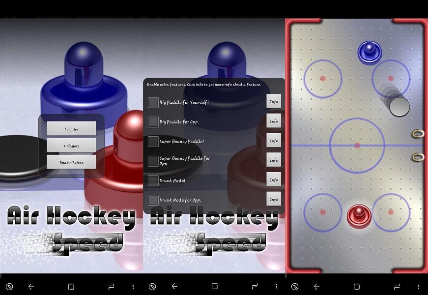 Air Hockey Speed
