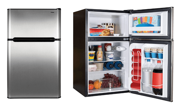 Best mini fridge with seperate freezer - Haier Refrigerator