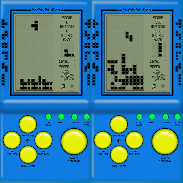 Vintage Game - Brick games