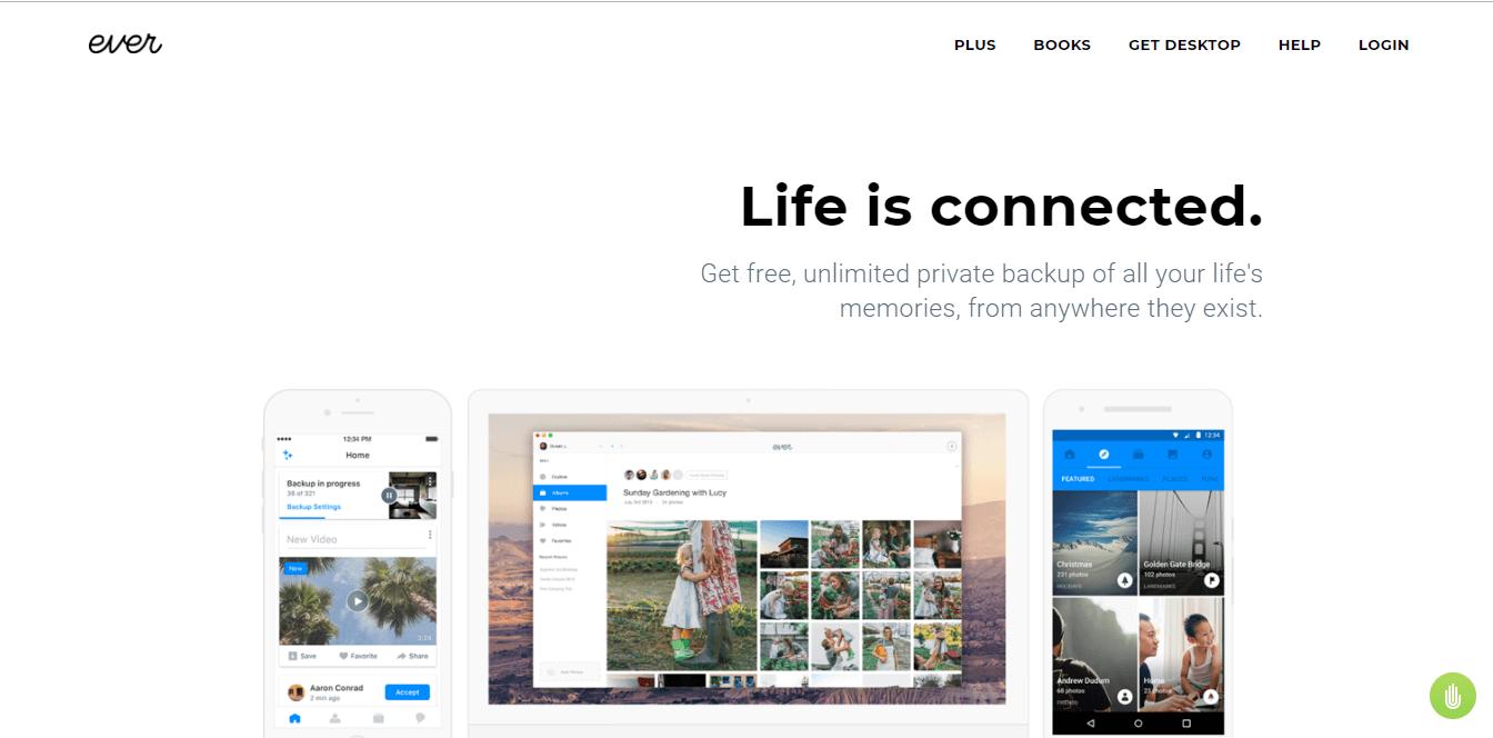 Ever - alternative to google photos PC