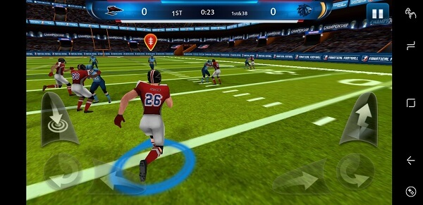 Fanatical Football - american football game