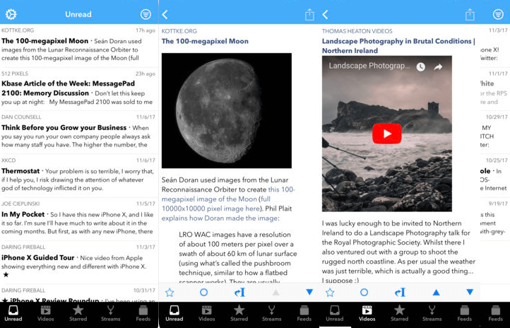 Feed Wrangler - Best RSS reader iOS