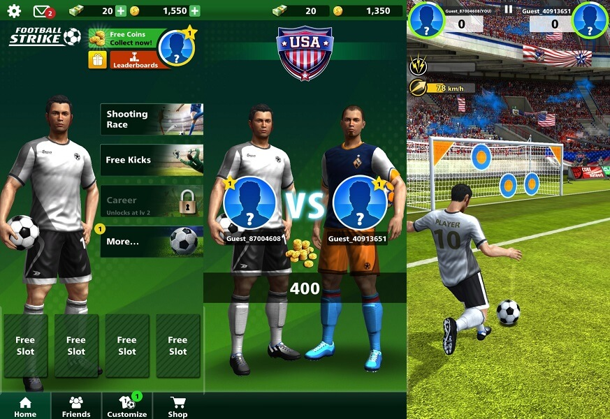 Football Strike - best football games